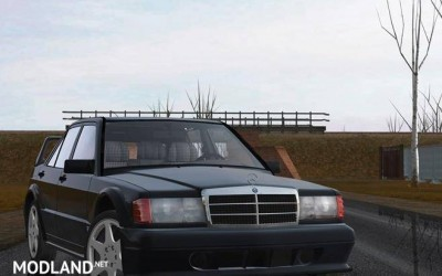 Mercedes-Benz 190E 2.5-16 Evolution II (W201) 1990 [1.5.5]